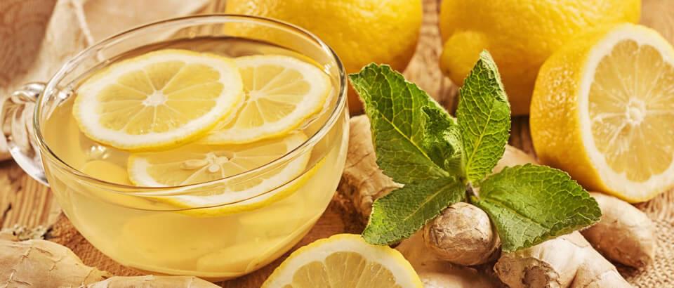 Receta jengibre con limón